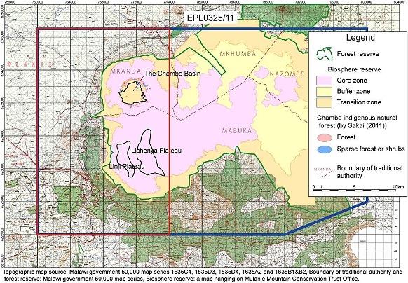 RDT map